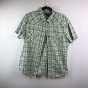 Mens polo collared shirt